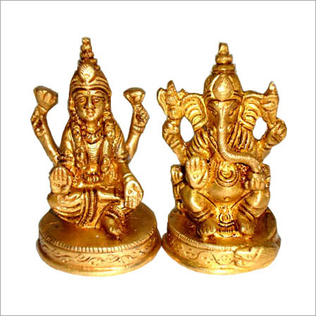 Goddess Lakshmi Sitting Statue
