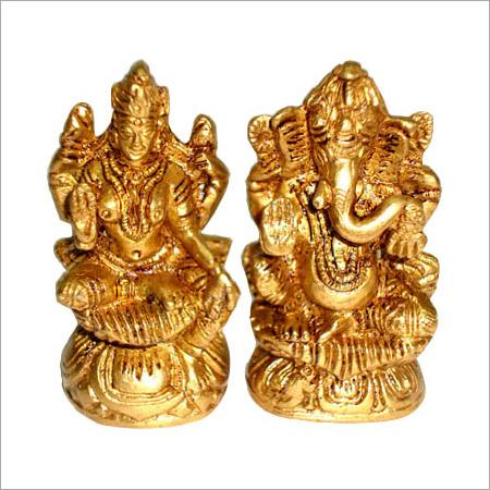 Brass Laxmi Gods