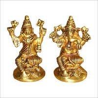 Laxmi Ganesh Statue Set