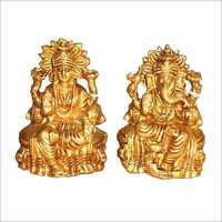 Carved Laxmi Ganesh