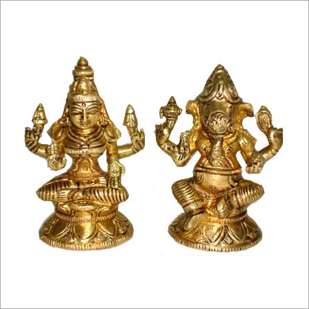 Decorative Brass God Statue