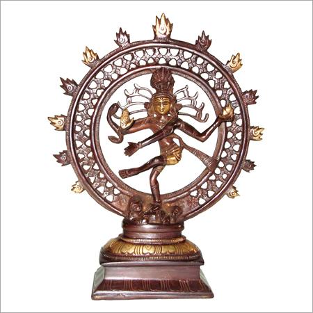 Shiva Nataraj Brass Statues