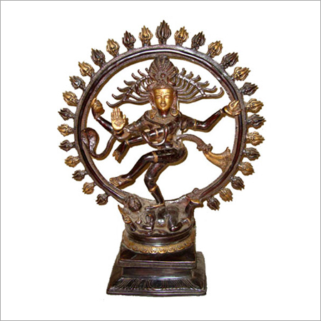 Shiva Sculpture of Brass