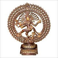 Nataraj Statue triple ring