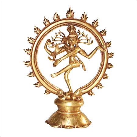 Brass Natraj Statue Exporter