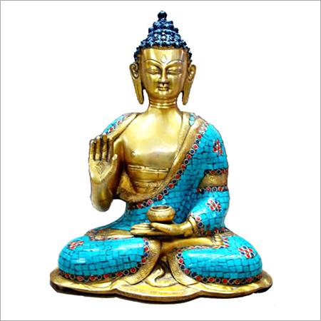 Sitting Stone Buddha Statue