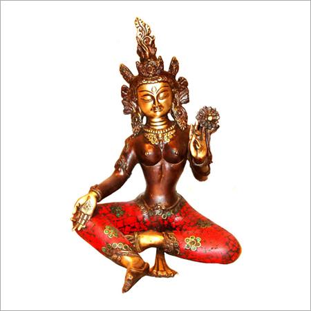 Copper Sitting Buddha