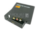 HDMI to AV Convertor (Composite Video Signal & R / L Audio Signal)