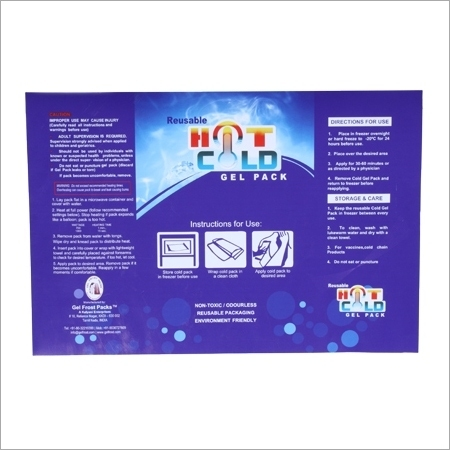 Pharmaceuticals Ice Packs