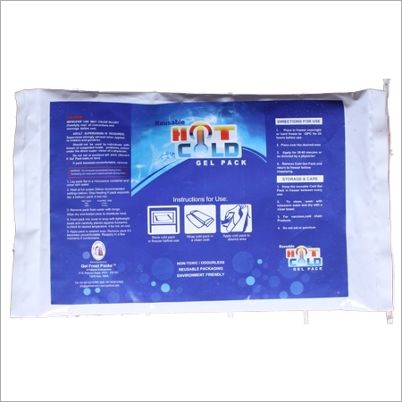 Hot and cold Ice Gel Packs