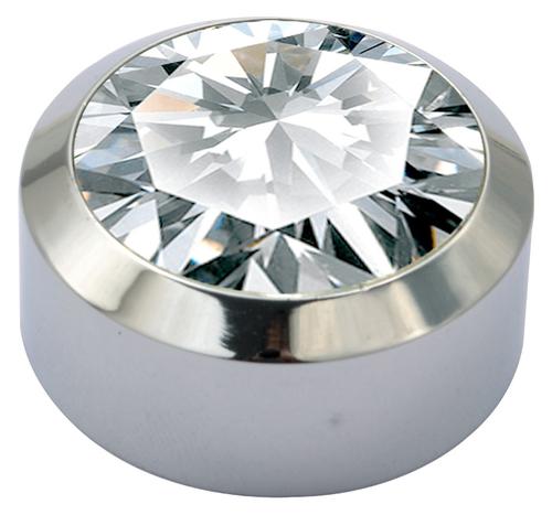 Brass Crystal Mirror Cap