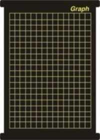 Graph 5 cm square chart