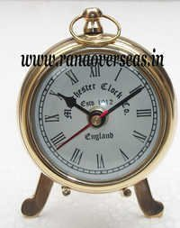 Brass Metal Table top Clock