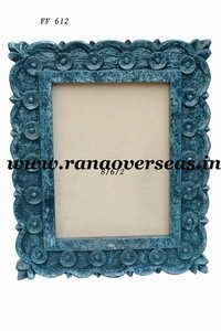 Wooden Photo Frame in Blue Finish