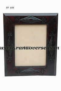 Wooden Photo Frame in carving