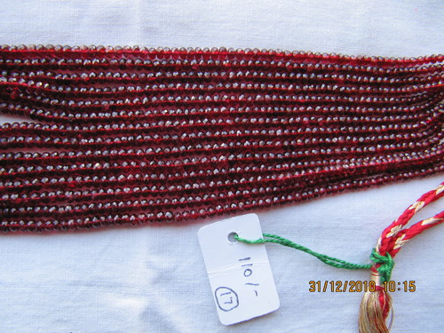 Red Spinel Beads