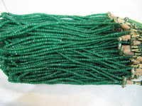 Dyed Emerald Beads