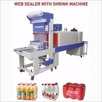 Shrink Wrapping Machine With Web Sealer