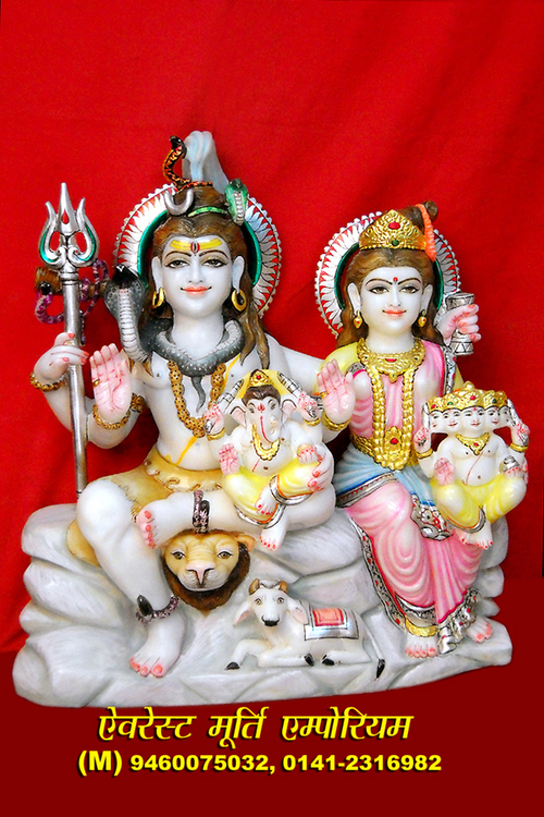 Statues Shiv Parvati