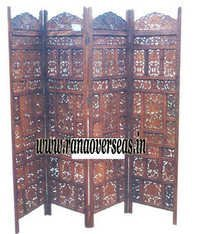 Sheesham Wood Partition Screen