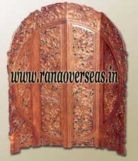 Sheesham Wood Room Divider Partition Screen.
