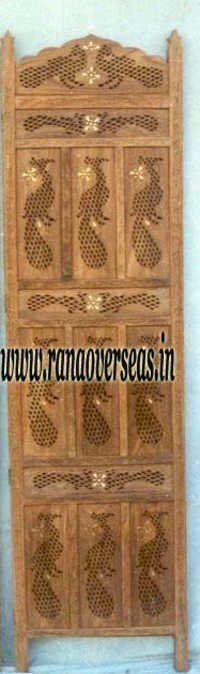 Mango Wood Room Divider Partition Screen