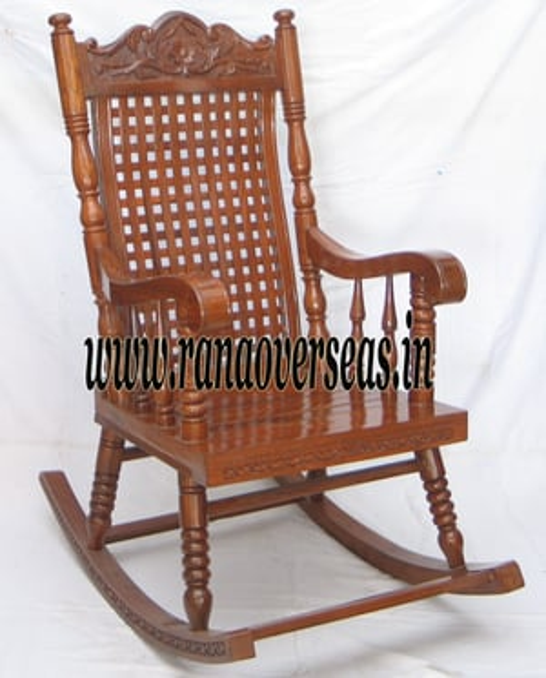 Wooden Rocking chair.