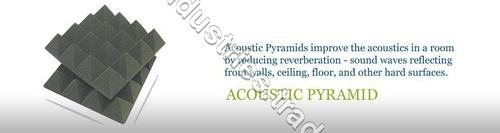 Acoustic Foam / Pyramid / Wedge Absorber
