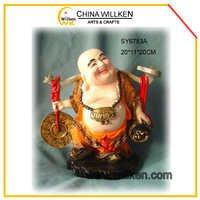 Resin Laughing Buddha