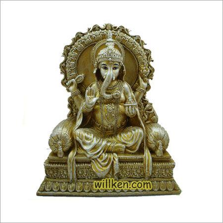 Sitting Ganesh Statue