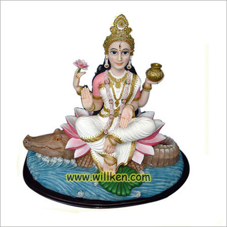Hindu Goddess Ganga Statue