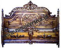 Wooden Carved Double Bed