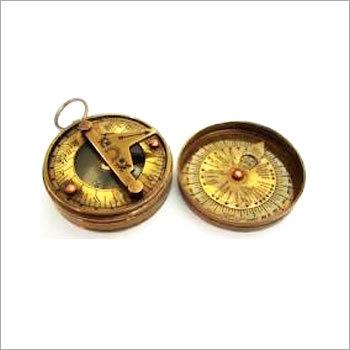 Brass Sundail Compass