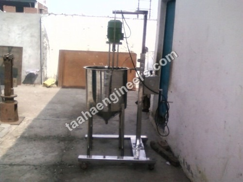 Vertical Homogeniser With Tank