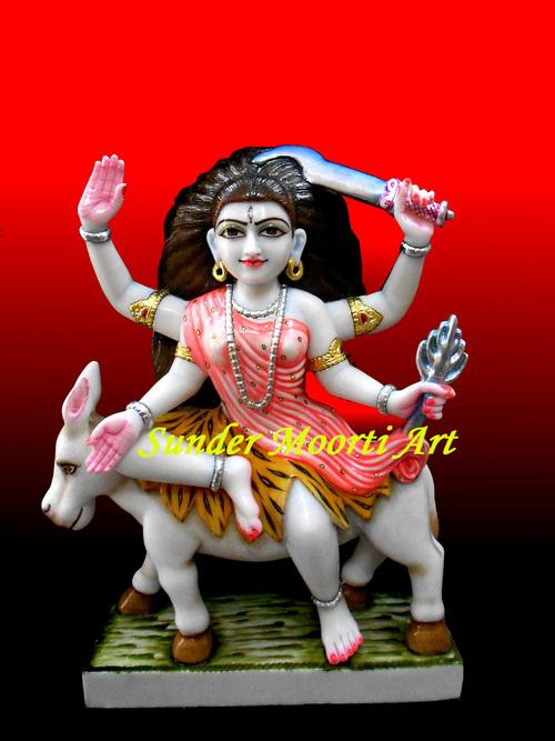 Marble Kaalratri statue