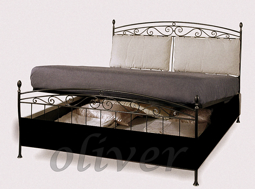 Wrought Iron Storage Bed