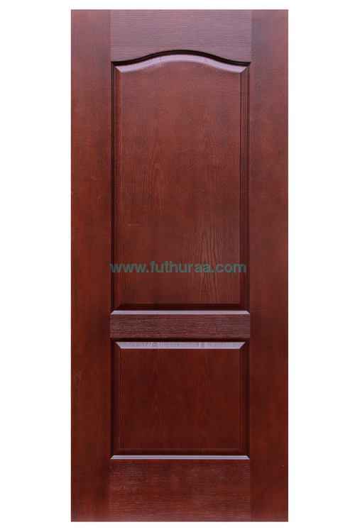 Flush Door (Skin door) with Polish with Natural finish