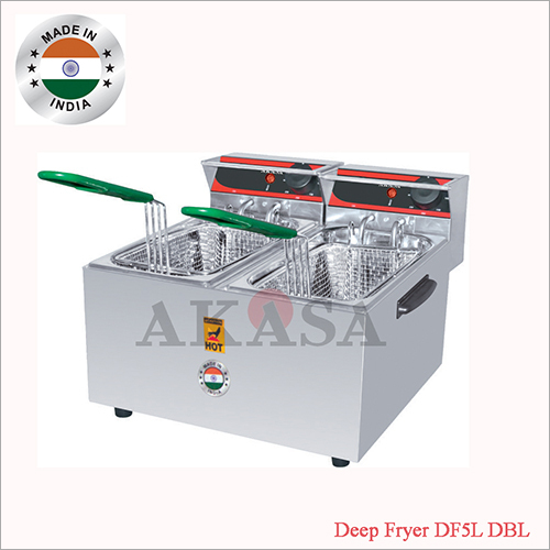 Double Electric Deep Fryer