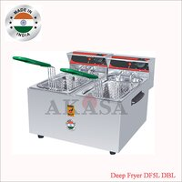 Double Electric Deep Fryer