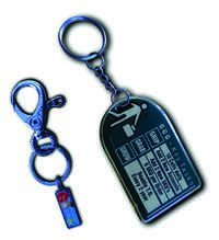 Plastic Key Chains