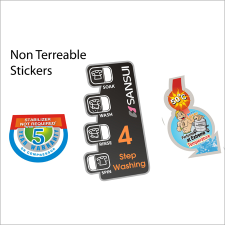 Non Tearable Stickers Printing Services