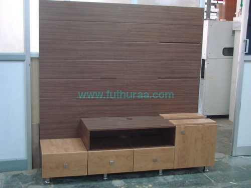 TV Table with Storages
