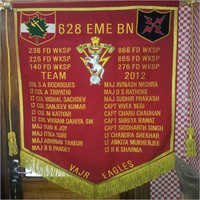 Embroidered Banner