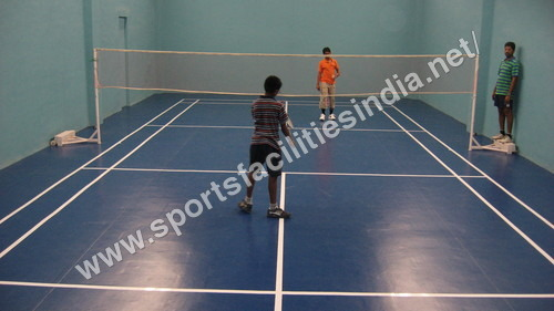 Synthetic Badminton Flooring