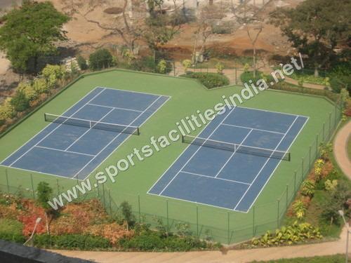 Deco Turf Tennis Court