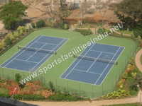 Deco Turf Tennis Court