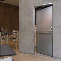 Stainless Steel Fire Doors