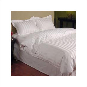 Self Stripe 100% Cotton Duvet Cover