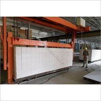 Aerated Autoclaved Concrete Bricks Machine