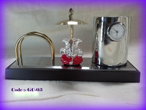 Table Top Ganesha with visiting card Holder